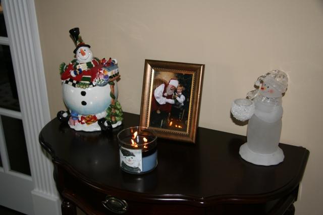 A few decorations