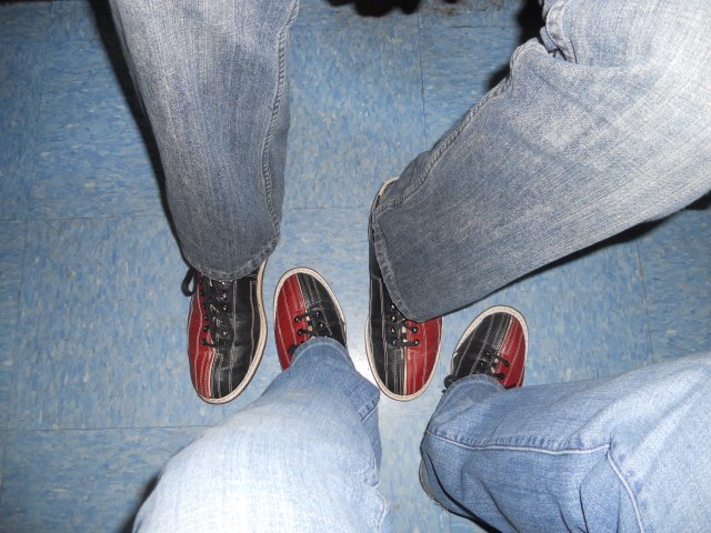 Who doesn't love some bowling shoes?